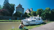 Férias de barco na França