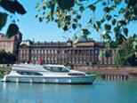Férias de barco na Alsácia-Lorraine, no leste da França