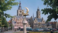 Férias de barco na Bélgica