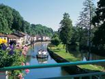 Férias de barco na Borgonha, no leste da França