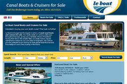 Mediação de Barcos de Canal da Le Boat