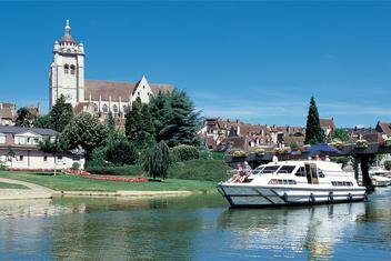 Férias de barco na Borgonha