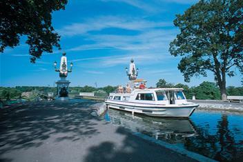 Férias de barco no Vale do Loire