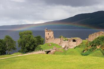 Férias de barco na Escócia