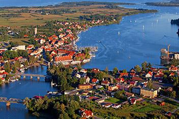 Férias de barco na Polónia
